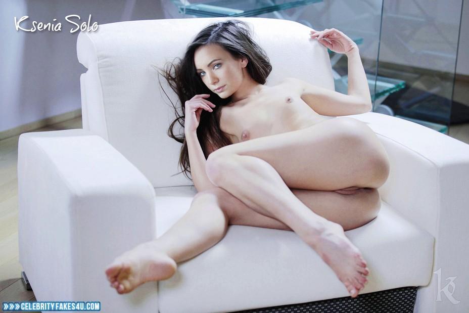 Ksenia Solo Fake, Ass, Camel Toe, Horny, Small Tits, Porn