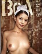 Kwon Boa Breasts Topless Porn Fake 001