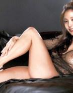 Kwon Boa See Thru Lingerie Fake 001