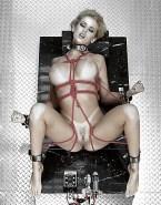 Kylie Minogue Bondage Legs Spread 001