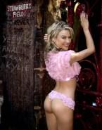 Kylie Minogue Thong Ass 001