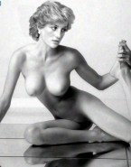 Lady Diana Sexy Legs Boobs Exposed Nsfw 001