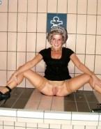Lady Diana Without Panties Exposing Vagina Nudes 001