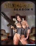 Lauren Cohan Tits Walking Dead Xxx Fake 001
