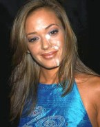 Leah Remini Facial Naked 001