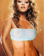 Leah Remini See Thru Exposed Tits Nude 001