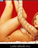 Leelee Sobieski Sideboob Legs Xxx Fake 001