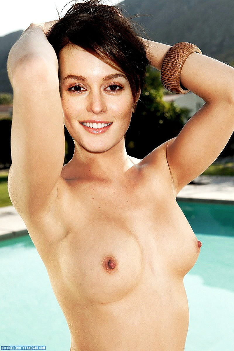 Leighton meester fake nude share