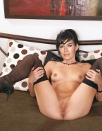 Lena Headey Tits Legs Spread Naked 001
