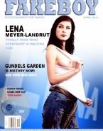 Lena Meyer Landrut Nude Playboy Cover - Fake 001