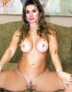 Letizia Ortiz Nude Vagina Legs Spread 001