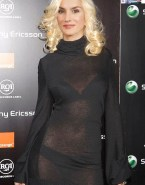 Letizia Ortiz Red Carpet Event See Thru 001
