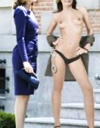 Letizia Ortiz Thong Topless 001