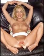 Lindsay Lohan Dildo Tight Pussy 001