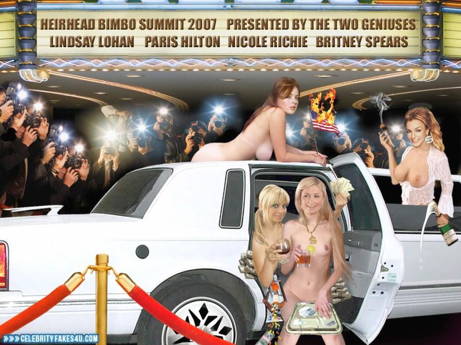 Lindsay Lohan Fake, Lesbian, Multi, Nude, Public, Porn