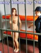 Lindsay Lohan Nice Tits Bondage 001