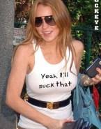 Lindsay Lohan Nipples See Thru 001