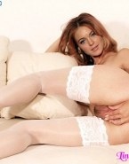 Lindsay Lohan Stockings Spread Pussy Nude 001