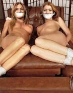 Lindsay Lohan Tits Bondage Naked 001