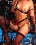 Lucy Lawless Lingerie Boobs Exposed Fakes 001