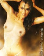 Lucy Lawless Nipples Pierced Wet Fakes 001