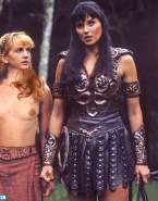 Lucy Lawless Topless Xena Warrior Princess Fakes 001