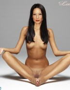 Lucy Liu Breasts Pussy Nsfw 001