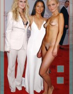 Lucy Liu Red Carpet Completely Naked Body 001