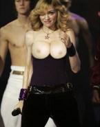 Madonna Boobs Flash Public 001