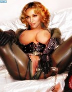 Madonna Latex Hot Outfit 001