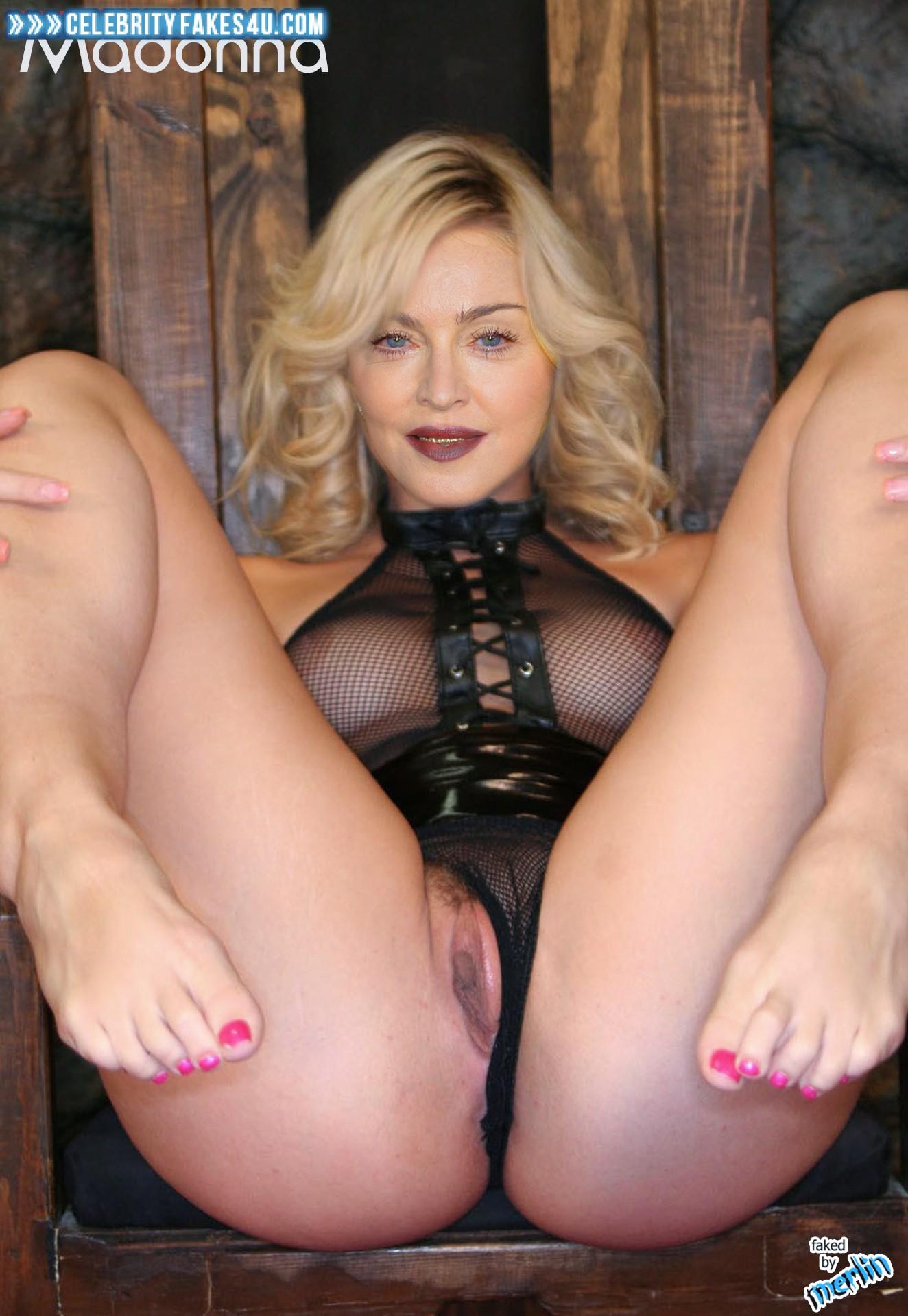 Мадонна Порно Фото