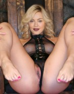 Madonna Panties Aside See Thru Naked 001