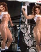 Madonna Wet Naked Body 001