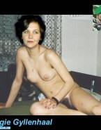 Maggie Gyllenhaal Hairy Pussy Homemade Naked Fake 001