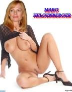 Marg Helgenberger Flashing Tits Without Panties Naked 001
