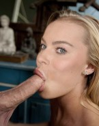 Margot Robbie Blowjob Blonde Sex 002