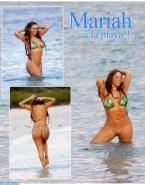 Mariah Carey Bikini Beach Nude 001