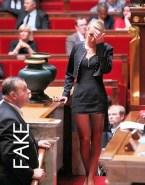 Marion Marechal Le Pen Skirt Stockings Naked 001