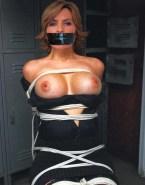 Mariska Hargitay Squeezing Tits Bondage Porn 001
