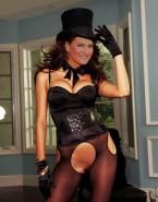 Marlene Lufen Hot Outfit Lingerie Naked 001