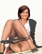 Marlene Lufen Undressing Panties Off Nude 001