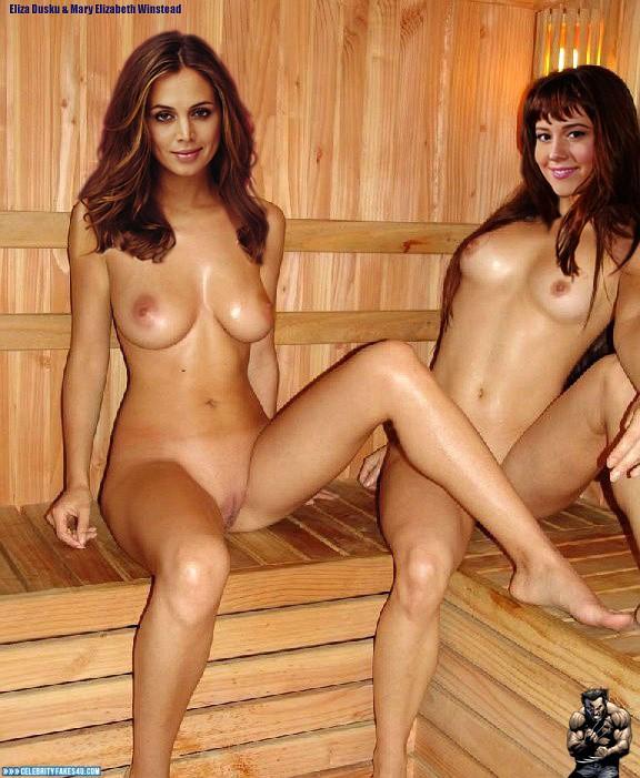 Mary Elizabeth Winstead Lesbian Naked Body Fake 001 -2938