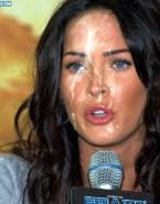 Megan Fox Big Cumshot Facial Porn 001