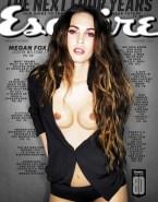 Megan Fox Boobs Magazine Cover Porn 001