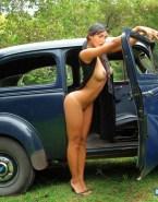Megan Fox Tits Outdoors Naked 001
