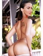 Megan Fox Undressing Thong Naked 001