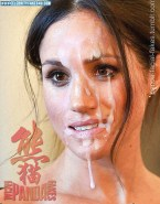 Meghan Markle Big Facial Cumshot Naked 001