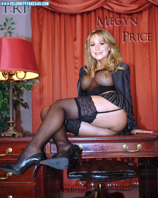 Megyn Price Fake, Heels, Lingerie, Nude, Stockings, Tits, Porn