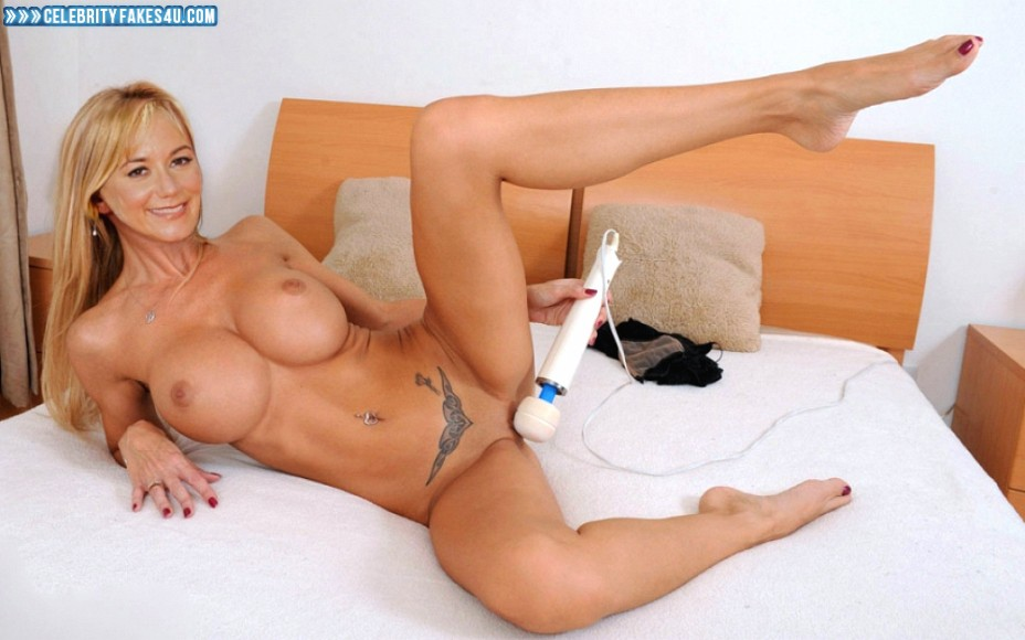 Megyn Price Fake, Big Tits, Legs Spread, Masturbating, Naked Body, Nude, Pussy, Sex Toy, Tattoos, Tits, Porn