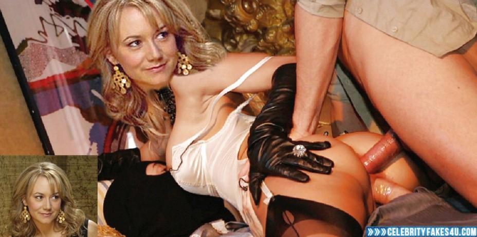Megyn Price Fake, Double-Penetration Sex, Horny, Lingerie, Sex, Porn